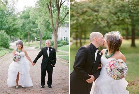 COLORFUL OUTDOOR WAUSAU WEDDING   JAMIE & SETH! ? The