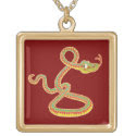 Chinese Year of the Snake Necklace