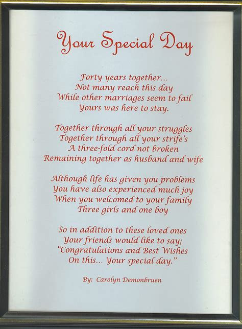wedding anniversary quotes  poems image quotes