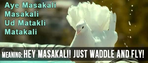 Aye-Masakali-91015
