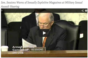 video Pic_sen sessions hearing dod