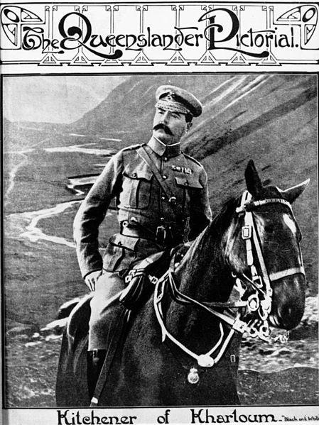 File:StateLibQld 1 102586 Lord Herbert Kichener on horseback..jpg