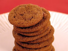 chocolate gingerbread cookie 1