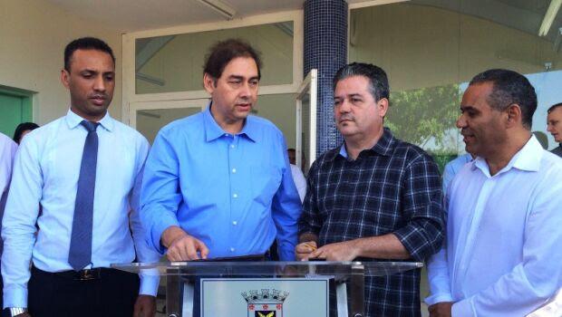 Bernal lança retomada das obras da UPA Moreninhas sem vereadores da base aliada/Foto: Taciane Peres