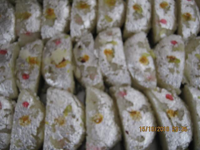 Sweets served at Vastushodh's UrbanGram on Saturday Morning, October 16, 2010