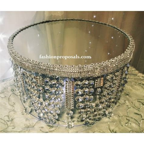 Bling Crystal cake stand, Crystal Wedding Cake Stand with