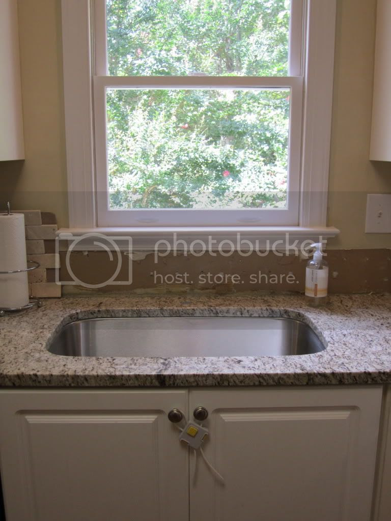 Sink Position Center It With Window Or Cabinets Doityourself
