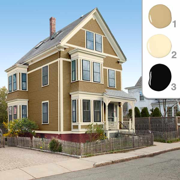 The Mustard Scheme | Picking the Perfect Exterior Paint Colors ...