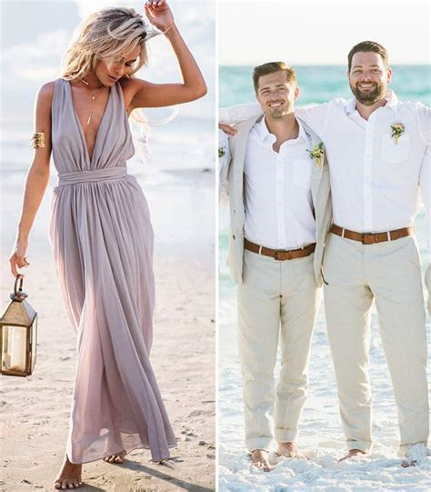 Decoding Guest Dress Code For Every Wedding Style   Beach