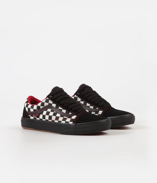 Vans Old Skool Pro Bmx Shoes Kevin Peraza Black Checkerboard