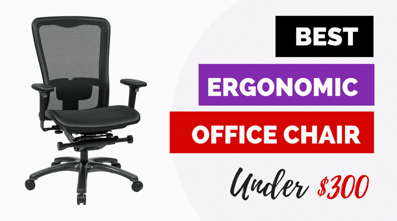 Best Ergonomic Office Chairs Under $300 for 2018 Reviews