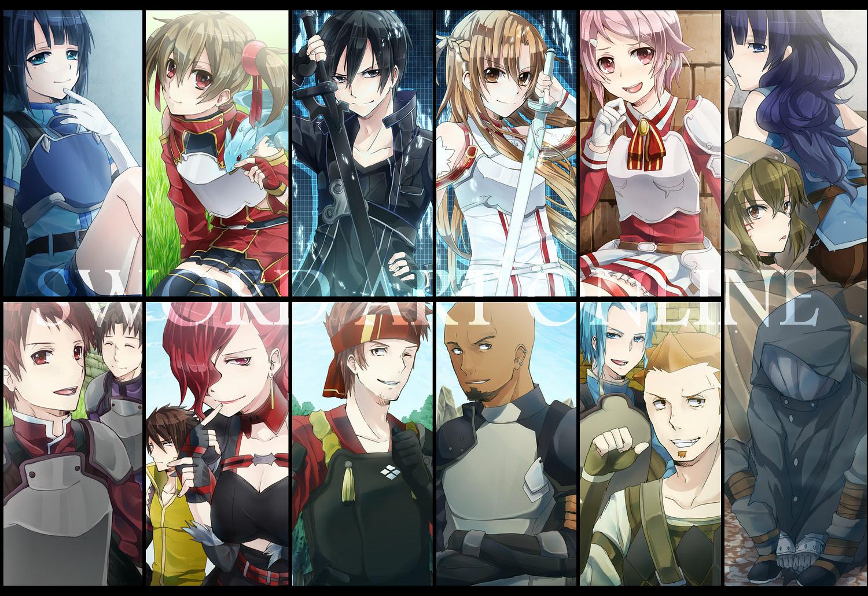 konachan 142580 andrew_gilbert_mills ayano_keiko group kirigaya_kazuto kirito_(tundereyuina) sachi_(sword_art_online) shinozaki_rika sword_art_online tagme tsuboi_ryoutarou yuuki_asuna.jpg