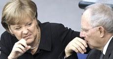 La Merkel con Schaeuble