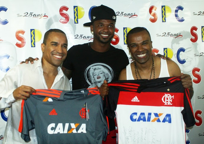 Felipe, Alexandre Pires, SPC 2 (Foto: Walmor Freitas/W2imagens)