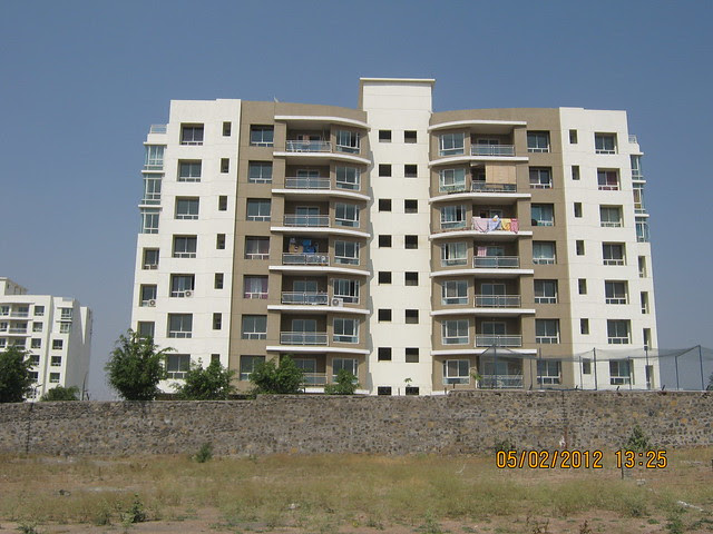 Konark Exotica from the site of Alfa Life Scapes, 2 BHK & 3 BHK Flats, on Wagholi Kesnand Road, Wagholi, Pune 412 207