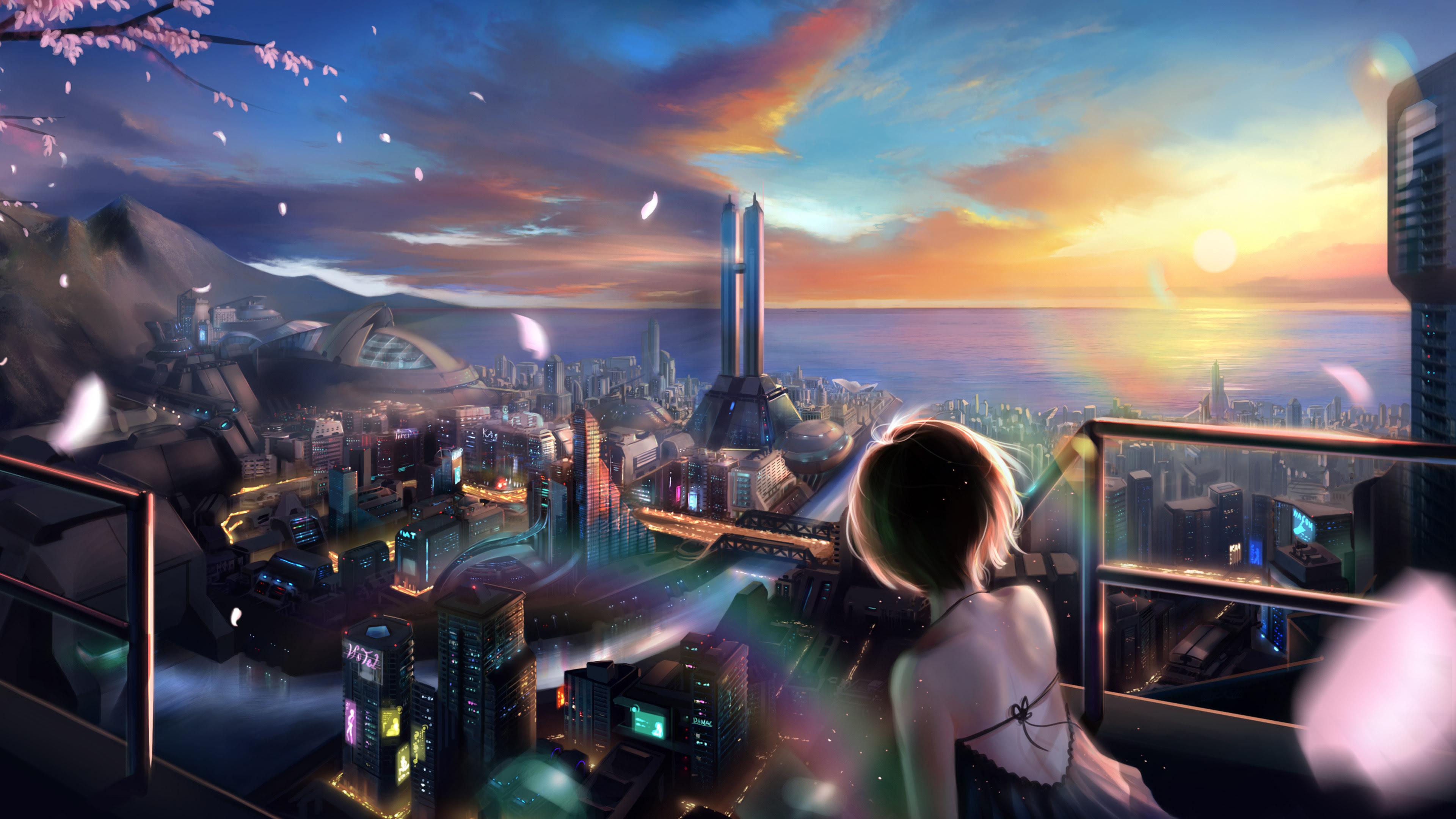 Kumpulan Ilmu Dan Pengetahuan Penting Anime Backgrounds 4k