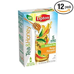 Lipton Tea and Honey Iced Tea Mix