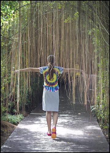 Rainforest Garden Entrance