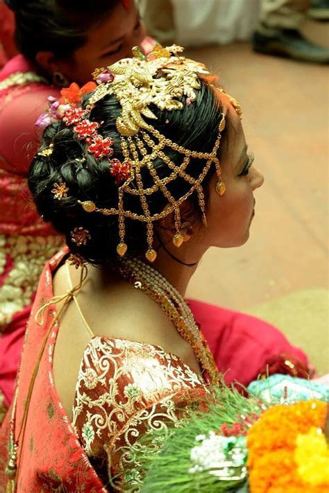 Newari Bride   You're BEAUTIFUL   Jewelry, Bridal makeup