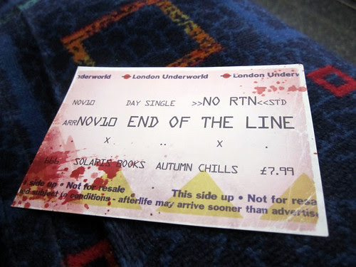 End of Line Launch Ticket flyer