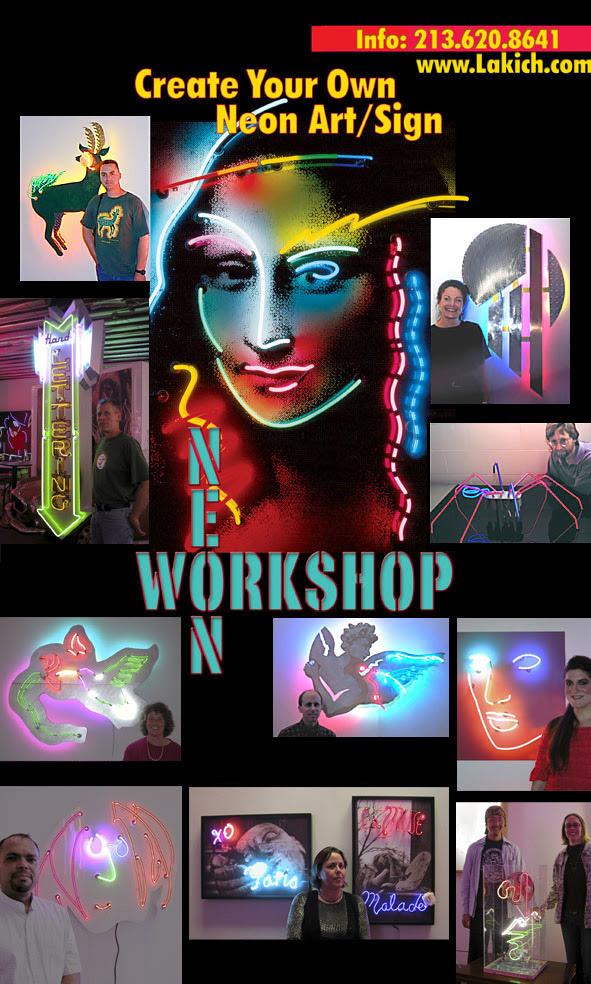 Neon Workshop Begins Feb. 27