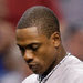 Curtis Granderson broke a bone in his pinkie after being hit by a pitch in the fifth, and was replaced for the bottom of the fifth.