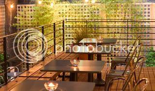 Pod's open-air restaurant 2