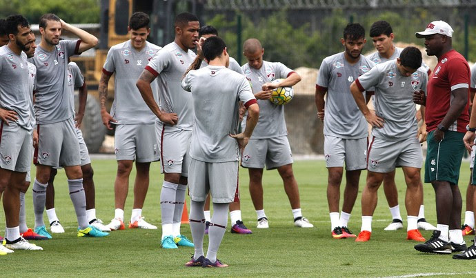 treino, fluminense, ct (Foto: Nelson Perez/Fluminense FC)