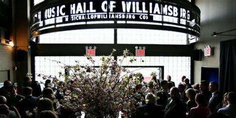 hall  williamsburg weddings  prices