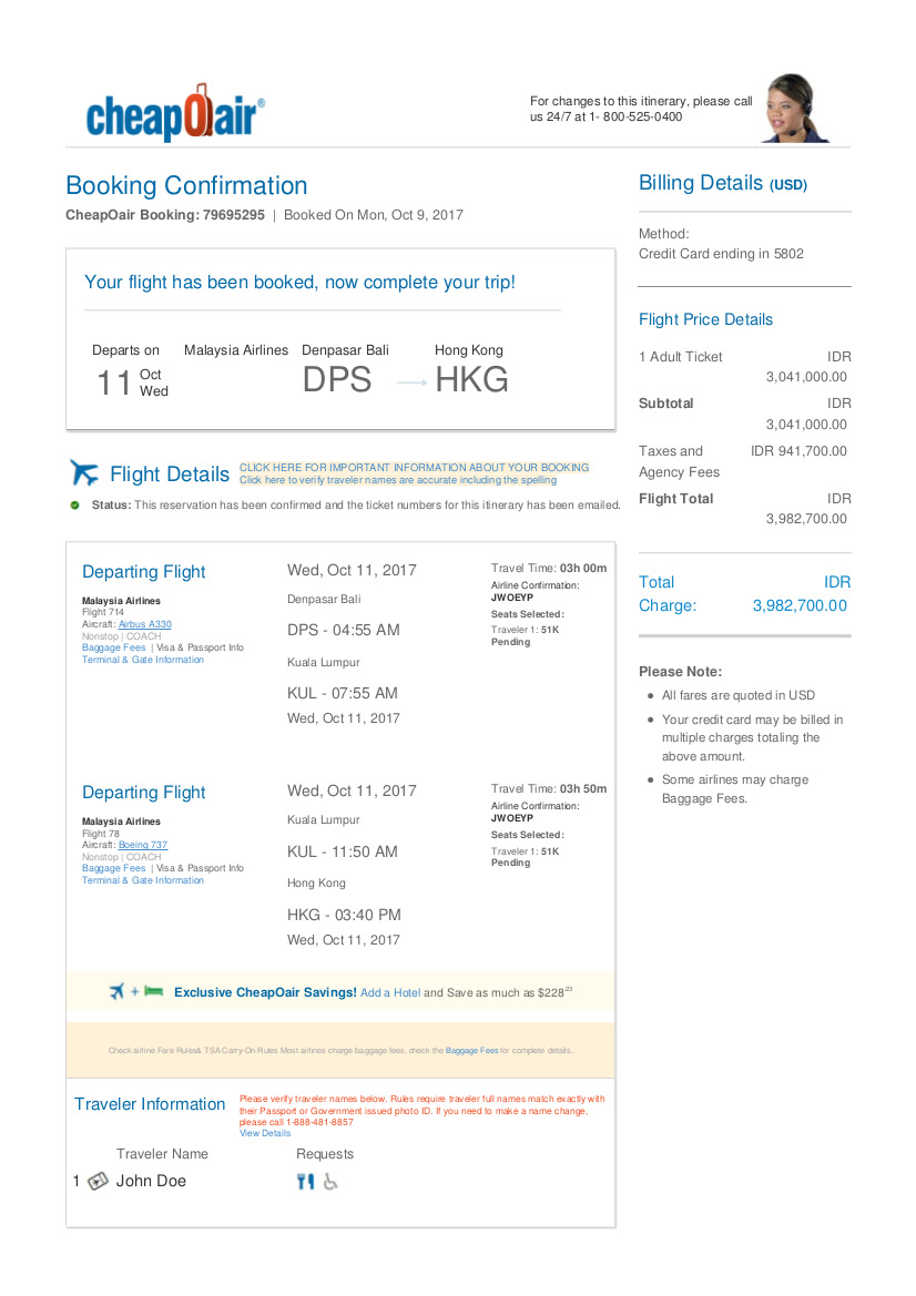 Flight Cheapoair   United Airlines and Travelling
