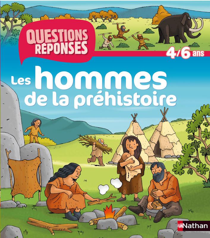 les hommes de la préhistoire nathan 4-6 ans