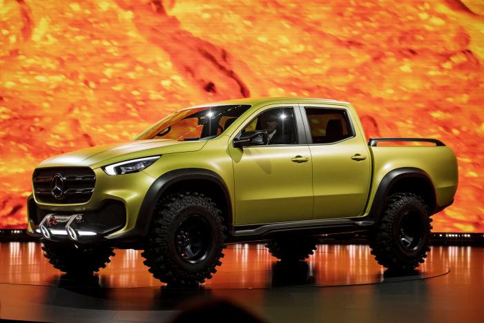 Mercedes-Benz to release pickup truck in 2017