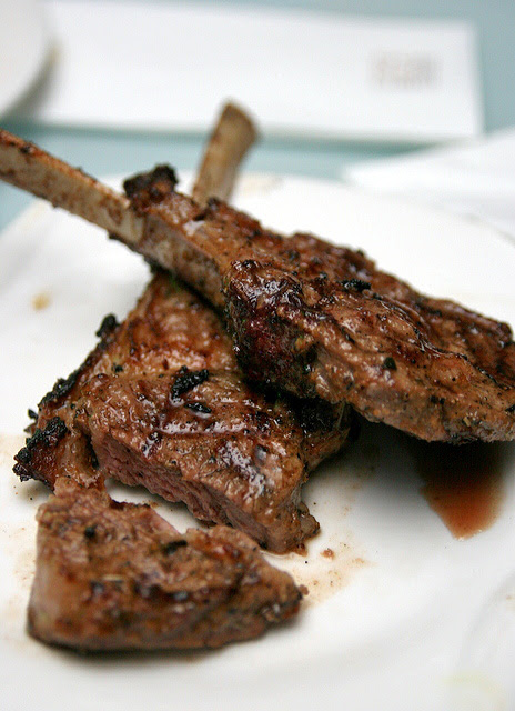 Lamb Rack French Cut (Marinated with Garlic Herbs, Oil and Spices)