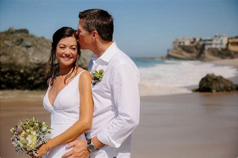 Private Beach Elopement   Aimee and Rich
