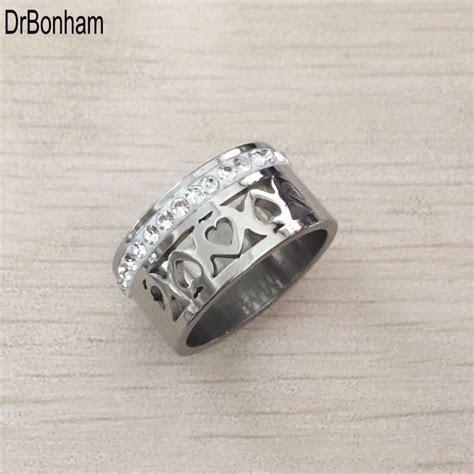 2017 new vintage Women zircon Rings Wholesale silver Color