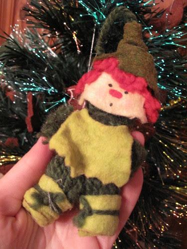 Elf friend from my childhood.