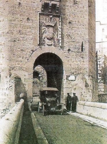 Puente de Alcántara en los años 20 (Toledo)