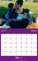 Calendario FEDEGALMA 2010 Maio