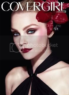 Jessica Stam New Ad for CoverGirl
