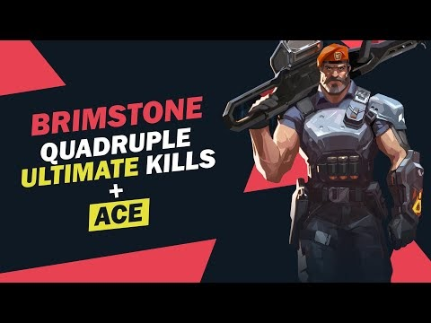 Brimstone's most satisfying ultimate & ace | Valorant
