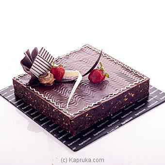 Buy Chocolate Brownie Delight Cake - Kapruka Online ...