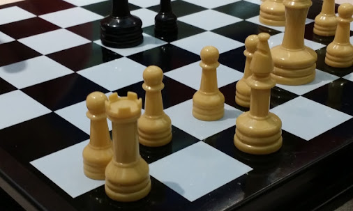 23 days left to build better chess players here at South Lakewood Elementary.