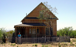 Kurt Russell house in Tombstone. Photo copyright 2003-2004 Mike Durrett, all rights reserved.