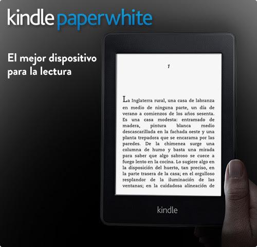Kindle Paperwhite e-reader: presentación