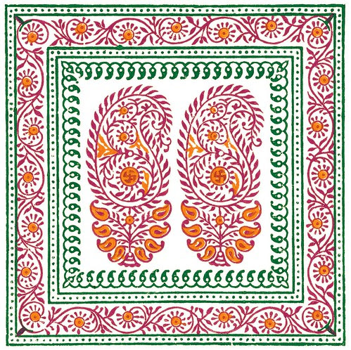 Indian Textitle Design a3