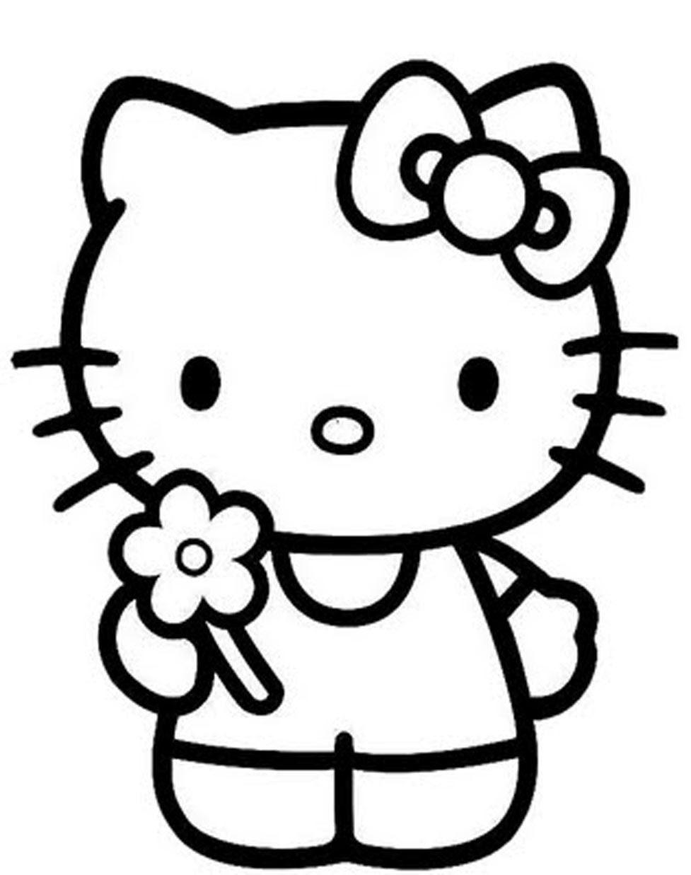 Coloriages à Imprimer Hello Kitty Numéro 17750