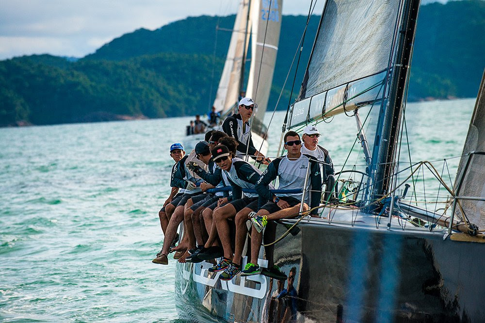 Ubatuba Sailing Week em fotos, veleiro na Ubatuba Sailing week