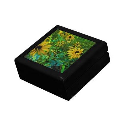 Black-Eyed Susans Jewelry Box