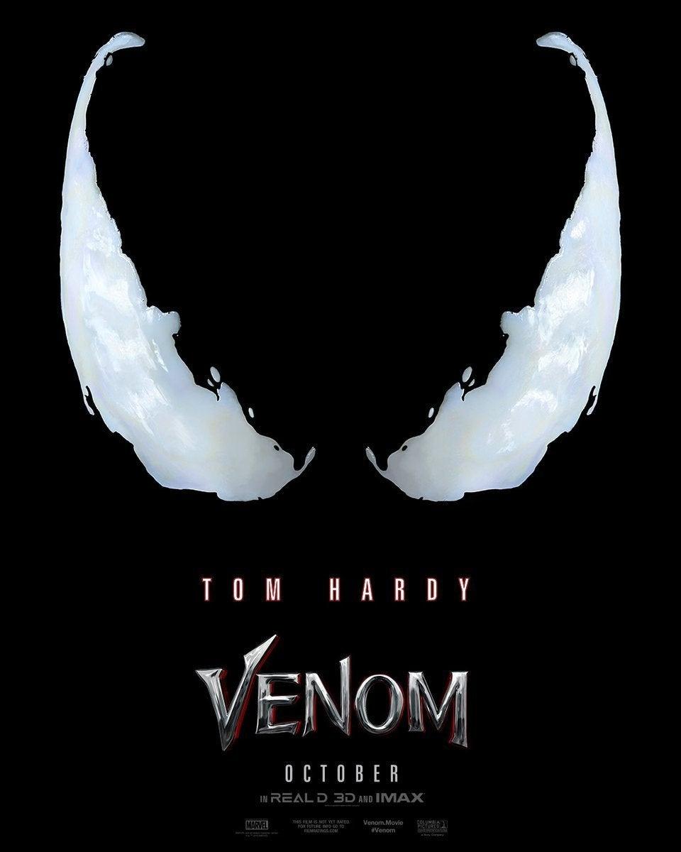Resultado de imagem para Venom 2018 poster