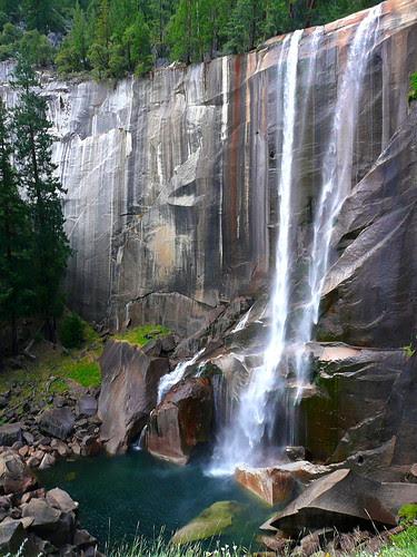 P1180461 Half Dome Trail: Vernal Falls